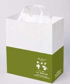 和菓子 紙袋 袋 手提げ袋