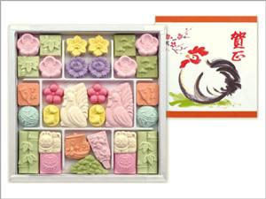 干支の干菓子 和菓子「酉」