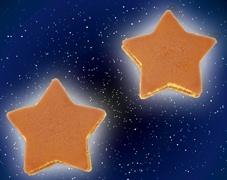 手作り星型 どら焼き