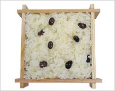 黒飯(白飯)