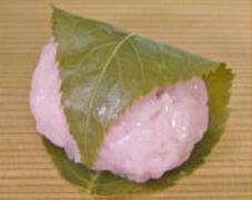 桃の節句の生菓子