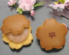 桜のどら焼き