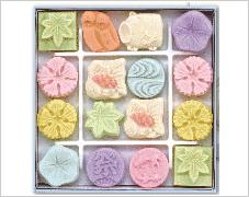 夏の干菓子 和三盆糖 打ち菓子 打ち菓子