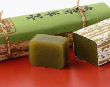 竹皮包み羊羹