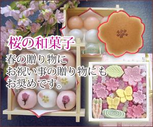 桜 お花見の和菓子