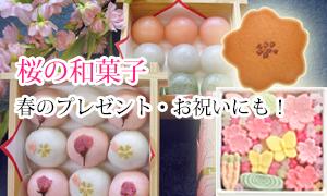 人気の東京 老舗 桜・お花見の和菓子お菓子ギフト