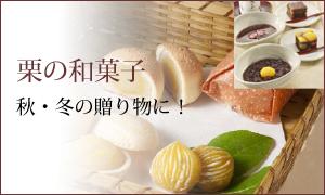 人気の東京 老舗 秋 栗の和菓子お菓子ギフト