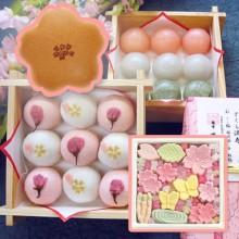 桜の和菓子お菓子スイーツ