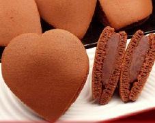 ショコラ ハートどら焼き バレンタインデー 和菓子 お菓子